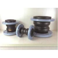 China KST-F type Dual-ball flexibacter damping rubber pipe joints, Nylon cord fabric, Steel wire strand on sale