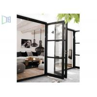 Outside and Inside Openable Aluminium Casement Door Various Colors Manufactures
