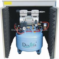 China Silent Oilless Air compressor with dryer and silent cabinet (DA7001DC) on sale