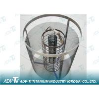 Quality ASTM F67 Expanded Titanium mesh 0.5 - 5mm For Metal Cage / Filtering for sale