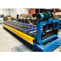 China Trapezoidal Roof Panel Roll Forming Machine 33ksi - 50ksi Yield Stress on sale