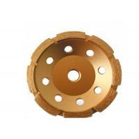 7 inch Single Row Diamond Cup Grinding Diasc Wheel  For Concrete Manufactures