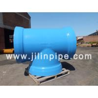 ductile iron pipe fittings, all socket tee Manufactures