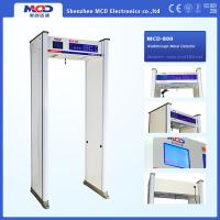 China High Sensitive Airport Metal Detector , 8 Zones Archway Metal Detector on sale