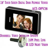 2.8 LCD Screen Digital Peephole Viewer Doorbell Video Camera Recorder Access Control DVR Manufactures