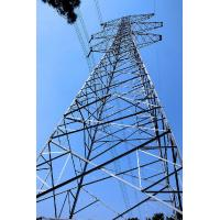 Steel Frame Building Construction Telecommunication Antenna  Self Supporting Towers 3L / 4L