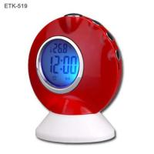 China LCD Speaking Alarm Clock with Digital Calendar on sale