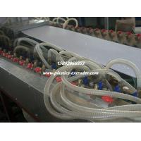 China PVC Ceiling Board / Platfond / Buckle Plate Making Machine 300mm Profile Width on sale