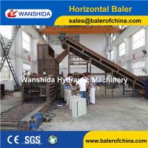 China Waste Plastic Bottles Baler manufacturer on sale