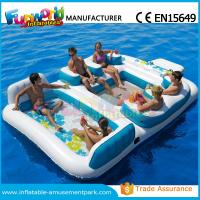 Waterproof Flame Retardant Inflatable Boat Toys Floating Water Sofa For Adults Manufactures