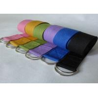 Body Building 8 Feet Yoga Stretch Strap For Tension Exercise Manufactures