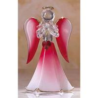 purple GLASS glitter ANGELS Manufactures