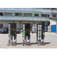 Quality Small 100L Water Treatment Equipment / Reverse Osmosis RO Drinking Water Treatment Plant for sale