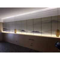 China Kenaf  / PP Fiber Water Resistant Fiber Wall Panels Environmental Friendly For Building Decoration on sale