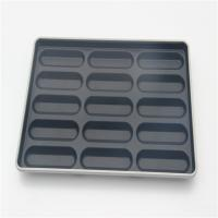 18 Mold Glazed Aluminized baking tray Individual hot bun dog pan for 600*400*45 Manufactures