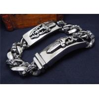 China High Polish Couple Bracelet Stainless Steel Bracelets For Men'S Jewelry on sale