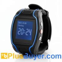 Two Way Calling GPS Mobile Phone Watch (Quad Band, SOS Call Button, Timer) Manufactures