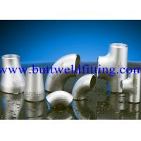 UNS 6601 UNS 6625 UNS 10276 Butt Weld Fittings Weldable Elbows , Reducing Tee Manufactures