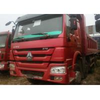 High Strength Steel Material Heavy Dump Truck / Heavy Duty Single Axle Dump Truck Manufactures