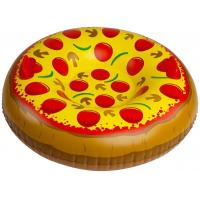 Non - toxic  PVC Pizza Inflatable Snow Tube 3' Wide Max Of 200 Pounds