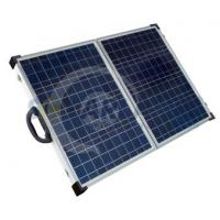 Aluminium Frame Solarland 12V 80W Folding Portable Solar Panel Chargers for Camping Manufactures