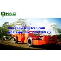 RT-15 Hydropower Low Profile Dump Truck For Mining , Quarrying , Construction Manufactures