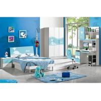 Buy cheap Cute Colorful Kids Modern Bedroom Furniture Sets With Lacquer Painting from wholesalers