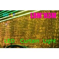 220v/110v 8*3m led curtain light with CE/ROHS and SAA certificate Manufactures