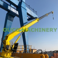 0.2T 20M Long 30m/min Telescoping Boom Crane Manufactures
