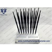 China New Type 18 Antennas Full Bands Adjustable  Powerful GPS WIFI5.8G 3G 4G All Cell Phone Signal Jammer on sale