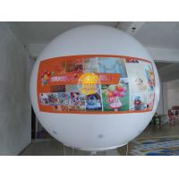 Customized Filled Advertising Helium Sphere Balloons with 0.18mm PVC Material