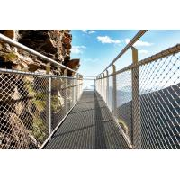 Buy cheap Knotted Stainless Steel Balustrade Mesh,Glass plank road Protective mesh from wholesalers