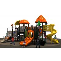 outdoor playground equipmen wiht plastic  tunnel  and slide for park and school  kidscenter for children play Manufactures