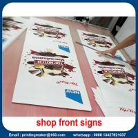 Water Proof Promotional Front Porch Wall Flags Signs Manufactures