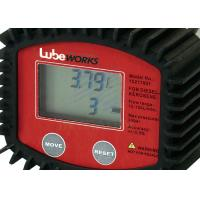 High Accuracy 30 Liter Digital Oil Meter With Low Battery Indicator / Liquid Flowmeter for sale