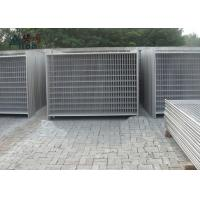 Outdoor Steel Temporary Fencing / Site Fence Panels For Sporting Safety Events Manufactures