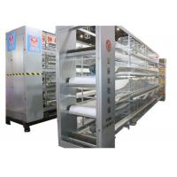 Reliable H Type Layer Chicken Cage Low Energy Consumption  Advanced Technology Manufactures