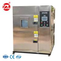 Large Color LCD Two Boxes Air - Cooled Hot and Cold Impact Environmental Chamber Manufactures