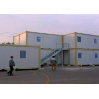 China External Stairs Storage Container Houses , Shipping Container Storage For Warehouse on sale