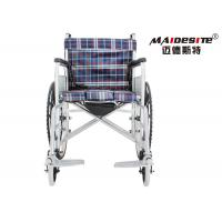 Super Lightweight Wheelchair Foldable , Lightweight Wheelchairs For Adults Manufactures