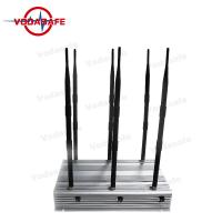 High Power Cell Phone Jamming Device , Mobile Phone Scrambler 2G 3G 4G Manufactures