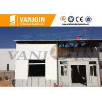 Sandwich Panel Modern Prefab Houses / Comfortable Prefabricated Houses Manufactures