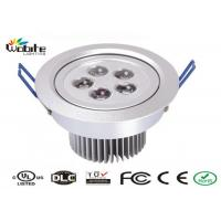 Outdoor Recessed Lighting Fixtures / 5W LED Ceiling Light Recessed Energy Saving Manufactures