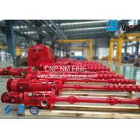 Centrifugal Electric Motor Driven Fire Pump Sets With Vertial Turbine Pumps For Water Use Manufactures