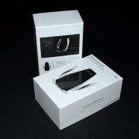 Wireless Car Charger Mount Rigid Paper Gift Box With Lids , Custom Cardboard Boxes