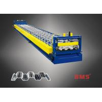 China Sheets Floor Deck Roll Forming Machine Use ASTM 615A G60 Galvanized Steel on sale