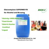 Food Grade Liquid Glucoamylase for Saccharification 400000 U / ml for Alcohol And Brewing Manufactures