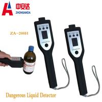 High Sensitivity Portable Explosive Detector  Lcd Alarm For Dangerous Liquid Manufactures