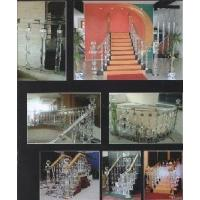 Hotel Hall Stair, Crystal Stair, Crystal Corridor Decoration, Crystal Guardrail (Factory Supply) Manufactures