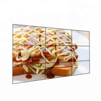 46 49 55 Advertising Video Wall 3x3 TV Wall LG/Samsung Panel For Shopping Mall Fashion Shop Manufactures